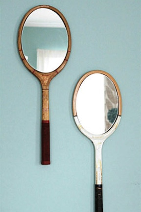 DIY mirror racquet