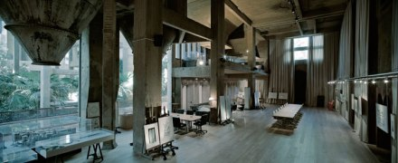 Ricardo Bofill cement factory courtesy of Ricardo Bofill and first seen on yatzer